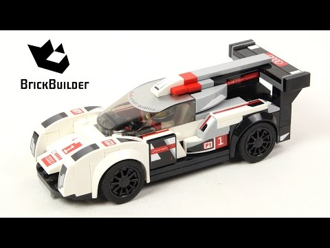 Lego Speed Champions 75872 Audi R18 e-tron quattro - Lego Speed build
