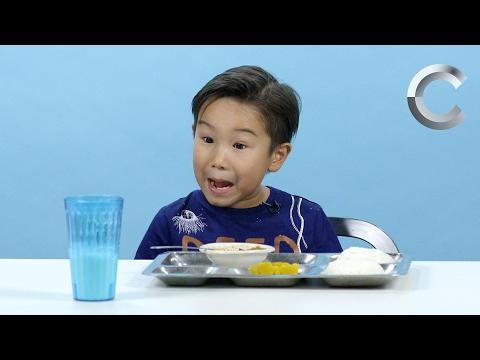 Дети Пробуют Школьные Обеды Со Всего Мира!