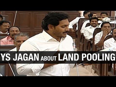 YSR Congress Chief YS Jagan slams AP CM Chandrababu Naidu over Land Pooling