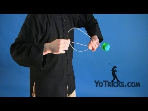 Learn how to do the Ninja Vanish Yoyo Trick - a Slack String Yoyo Trick.