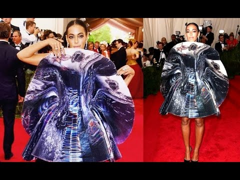 Solange Knowles Unique Giles Dress at the Met Gala 2015