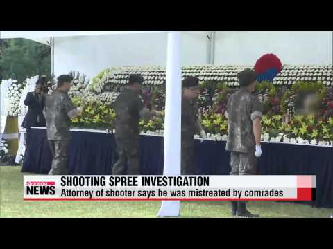 Funeral held for Korean soldiers killed in shooting rampage