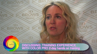 Colorpro Course in permanent makeup coming  to 3D Brows Oct. 28-29,2017