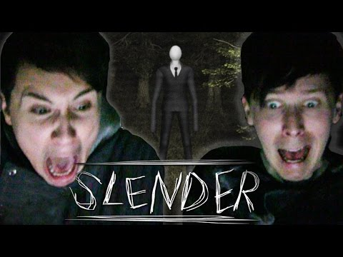 Dan and Phil Play SLENDER