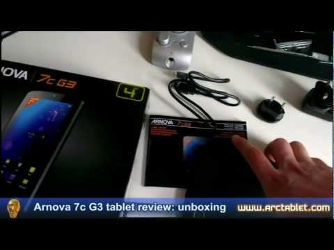 Arnova 7c G3 product review (7