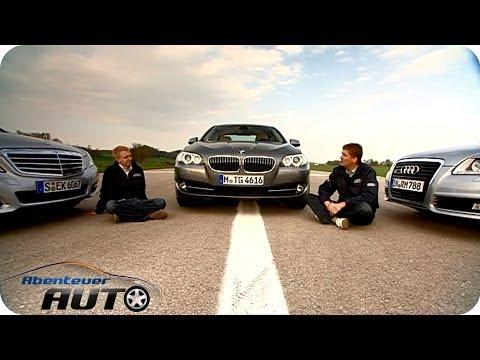 Vergleichstest: VT Audi A6 vs BMW 535 vs Mercedes Benz E350 - Abenteuer Auto