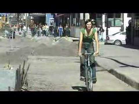 Bike Lane on de-Maisonneuve Editorial