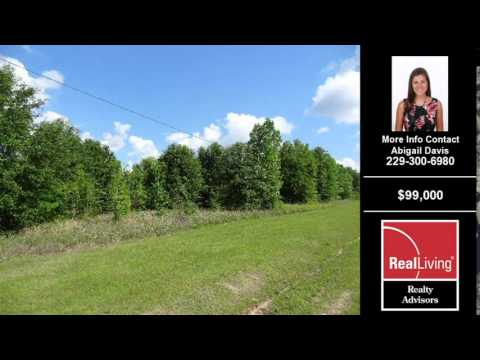 Land For Sale Lake Park GA $99000 Lake Park GA Abigail Davis