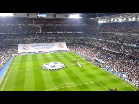 Champions League Anthem - Real Madrid X Manchester United 13 02 2013 Opening video