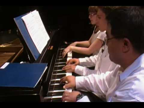ABBA Mamma Mia! 6-hand piano trio arrangement in concert