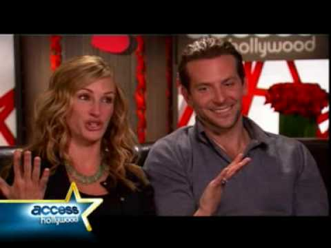 Julia Roberts & Bradley Coopers Valentine's Day Laugh