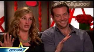 Julia Roberts & Bradley Coopers Valentine's Day Laugh