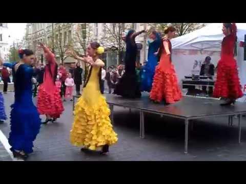 """Flamenko šokių studijos """"FLAMENKO.LT"""" atstovių prisistatymas"""