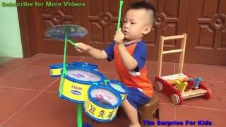 Baby drum | Toys For Kids Video | Kids Toys | The Surprise For Kids