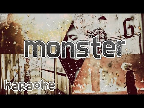 Bigbang - Monster [karaoke] video