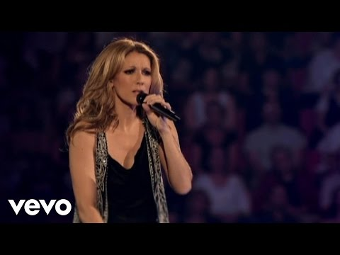 Céline Dion My Love Video Live