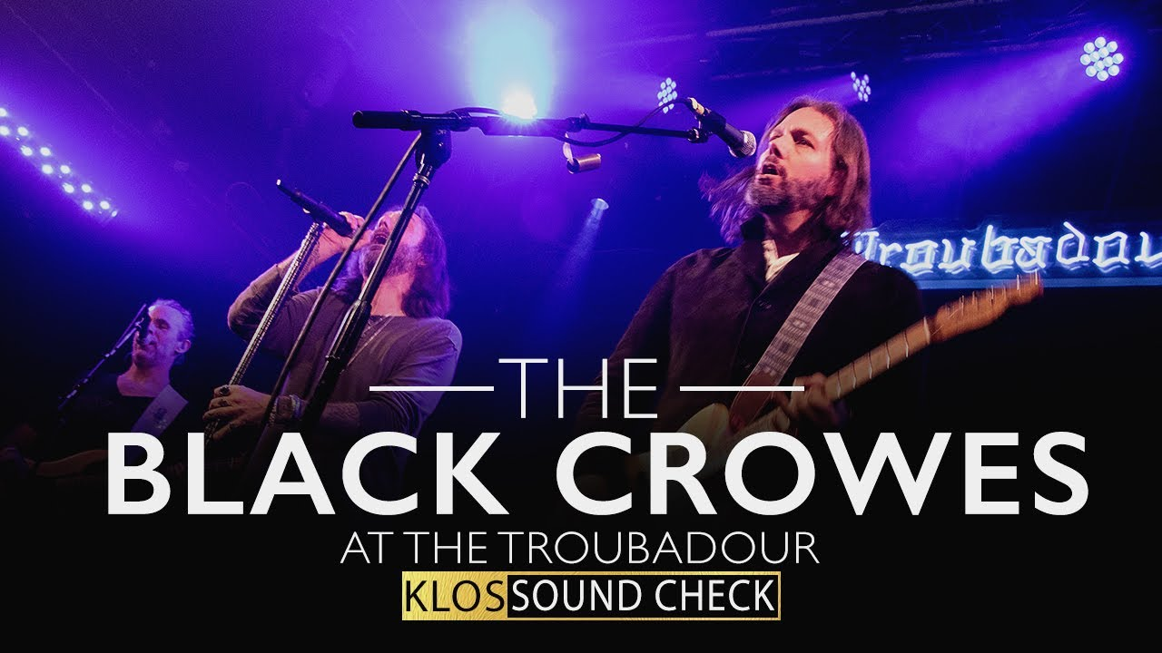 """The Black Crowes - 米KLOS-FMが""""Thick N' Thin""""、""""Jealous Again""""2曲のライブ映像を公開 thm Music info Clip"""