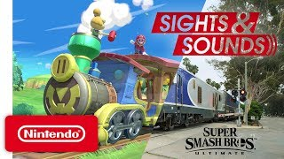 Sights & Sounds - An Action Packed Commute with Super Smash Bros. Ultimate