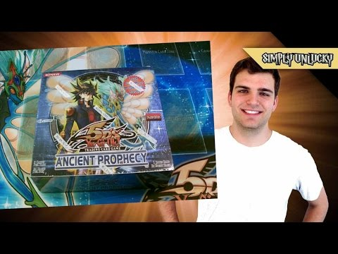 Best Yugioh 5ds Ancient Prophecy Booster Box Opening Ever! video