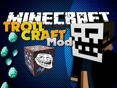 Minecraft Mod - TROLLCRAFT MOD - ITEMS TO TROLL FRIENDS