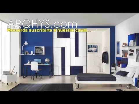 Dormitorios modernos para jovenes habitaciones y cuartos Dormitorios adolescentes