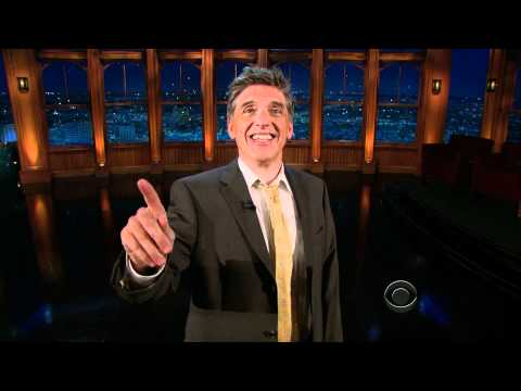 Craig Ferguson, Victim Of Gravity