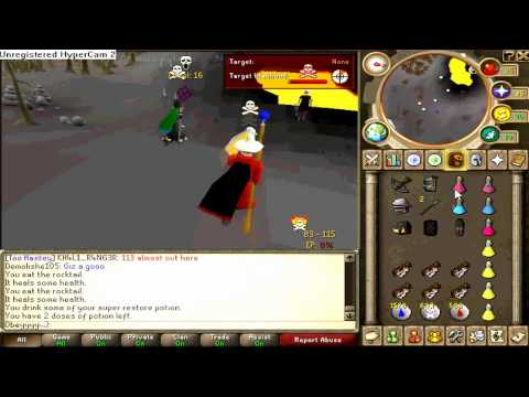 1 Song PK Video #1 ~ Runescape 100 Void Tank HyBriding ~ D34d...