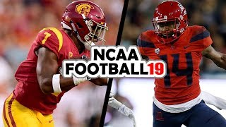 USC @ Arizona - 9-29-18 NCAA Football 19 Simulation (UPDATED ROSTERS for 2018)