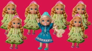 Download lagu Elsa and Anna toddlers- Too many Annas!