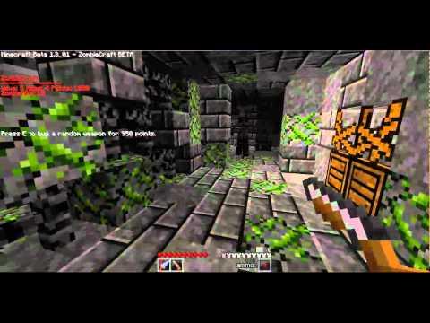 Minecraft - Zombiecraft - Introduction and Last Resort!