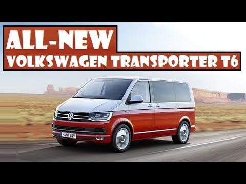 All-New Volkswagen Transporter T6. officially presented the sixth-generation Transporter family