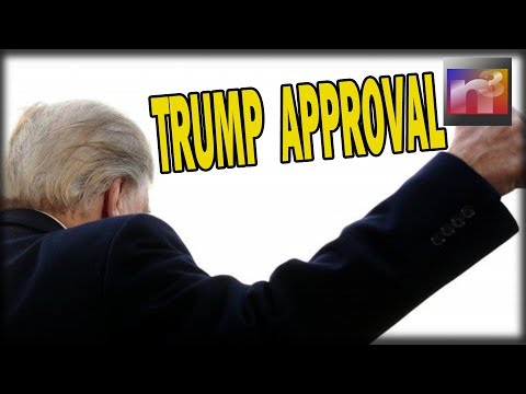 What a way to end the year! Trump Approval Hits 1 Month High