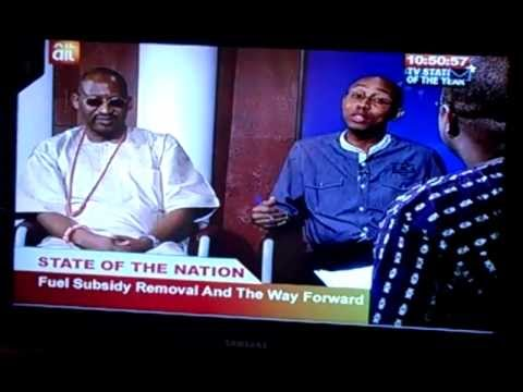 Hon Patrick Obahiagbon Fuel Subsidy Removal And Moderator (part 1 ) video