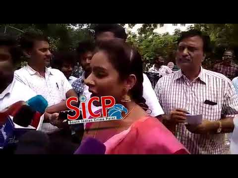 Sri Reddy complains of abuse and harassment 27/07/2018 | sicp