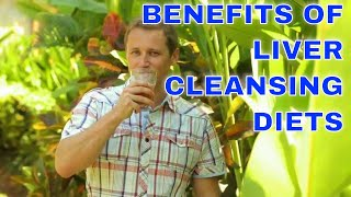 Benefits of liver cleansing diets. Treatment for fatty liver disease.