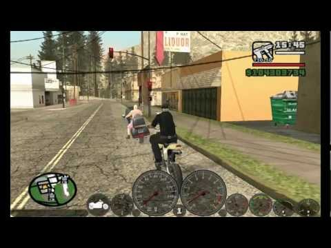 GTA San Andreas - Cleo Mod Advanced Speedometer (With Download Link)