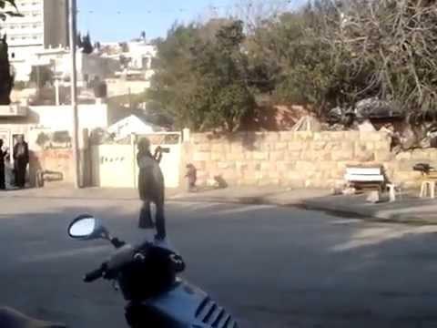 illegal settlers from Jordan attack Jews in Jerusalem