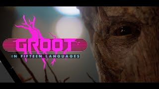 I AM GROOT in 15 languages - Marvel