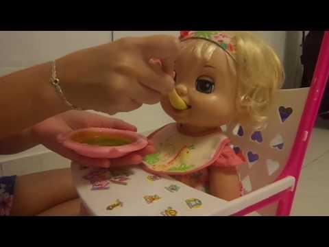 Review- Cuidando da Bianca -  Minha Baby Alive