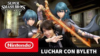 Super Smash Bros. Ultimate – Luchar con Byleth (Nintendo Switch)
