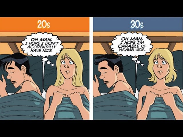 Facts Of Life In Your 20's Vs 30's