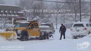 12-26-17 Erie, PA - People digging out after record breaking lake effect event