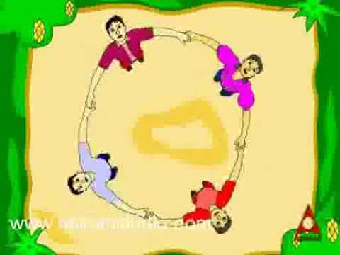 Ringa Ringa Roses - English Nursery Rhymes - CartoonAnimated...