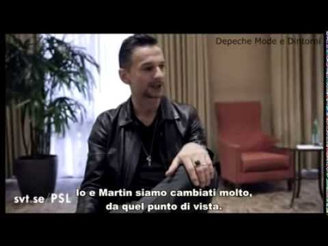 [Sub ITA] Dave Gahan (Depeche Mode) interview 2013 – Svt.se
