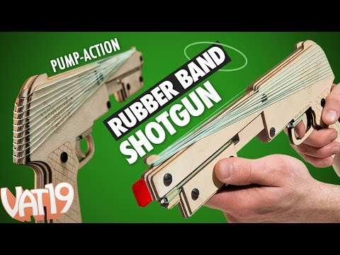 Amazing Rubber Band Shotgun