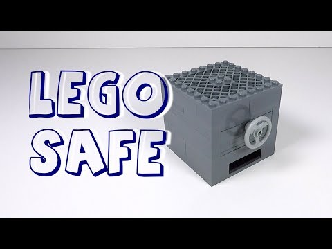 How to Make a LEGO Safe with Key Card - LEGO Safe Tutorial