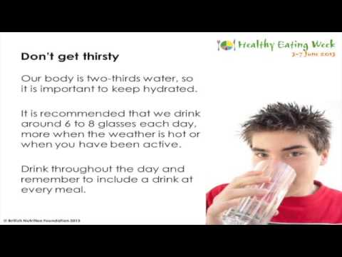 Health for life - 8 tips for healthy eating