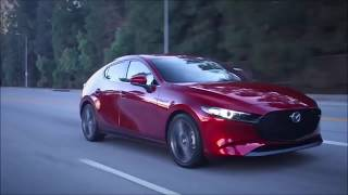 New Mazda 3 Hatchback 2019 - interior,exterior and Driving car