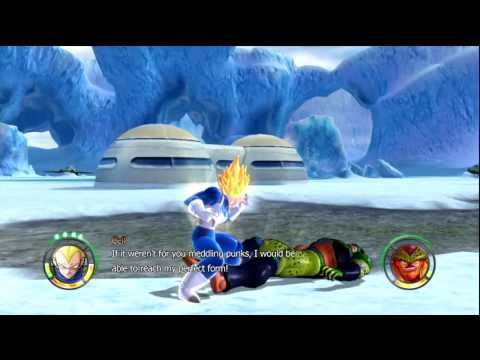 Dragon Ball: Raging Blast 2 - Vegeta   Galaxy Mode HD