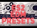 Sample Saturdays - ES2 EDM Presets